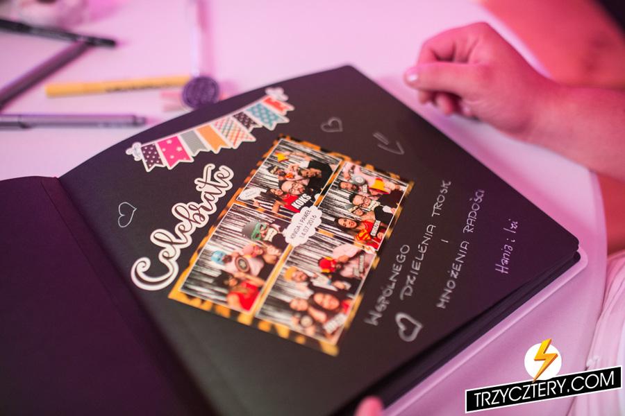 Ekskluzywna Księga gości - fotobudka